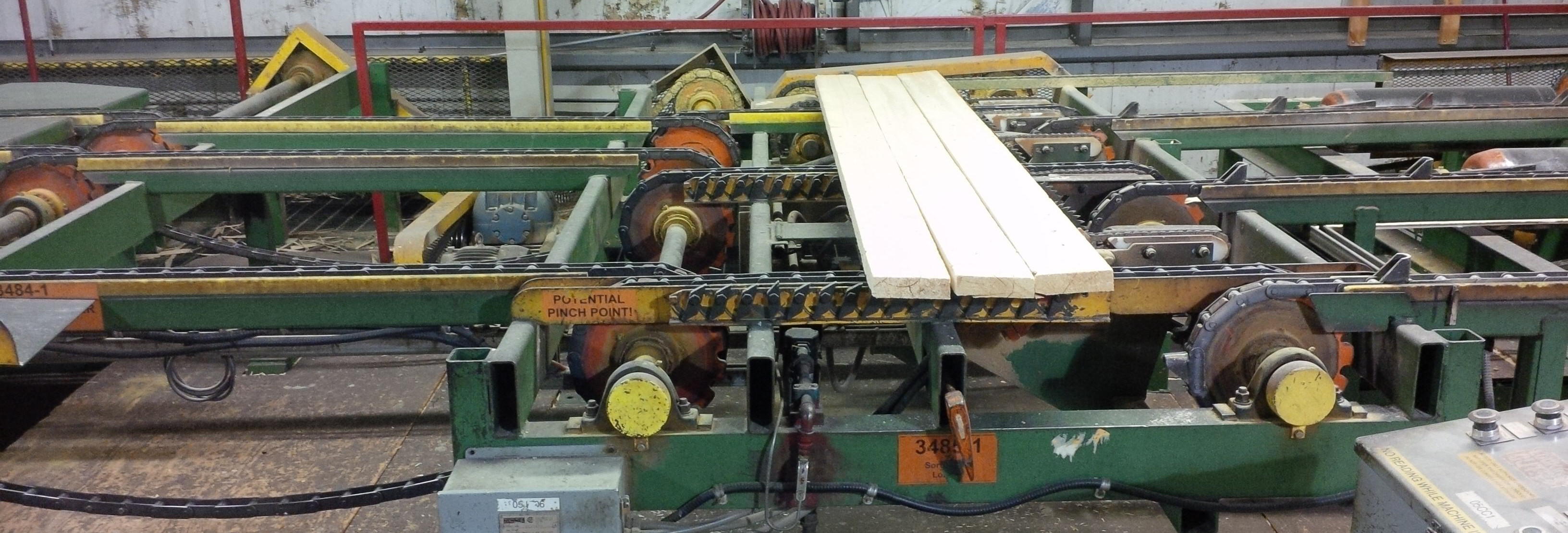 Conveyor picture onsite at Sawmill